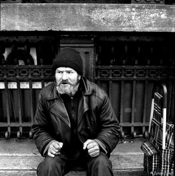 Homeless. By Iulian Ignat