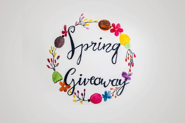 It's Spring Giveaway time!